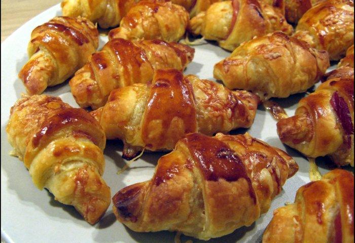 Petits Croissants Salés Pour Lapéritif A La Table De Gaelle