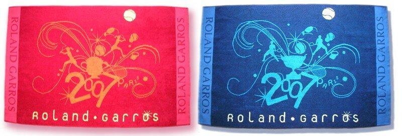 Resultado de imagem para roland garros towel 2007