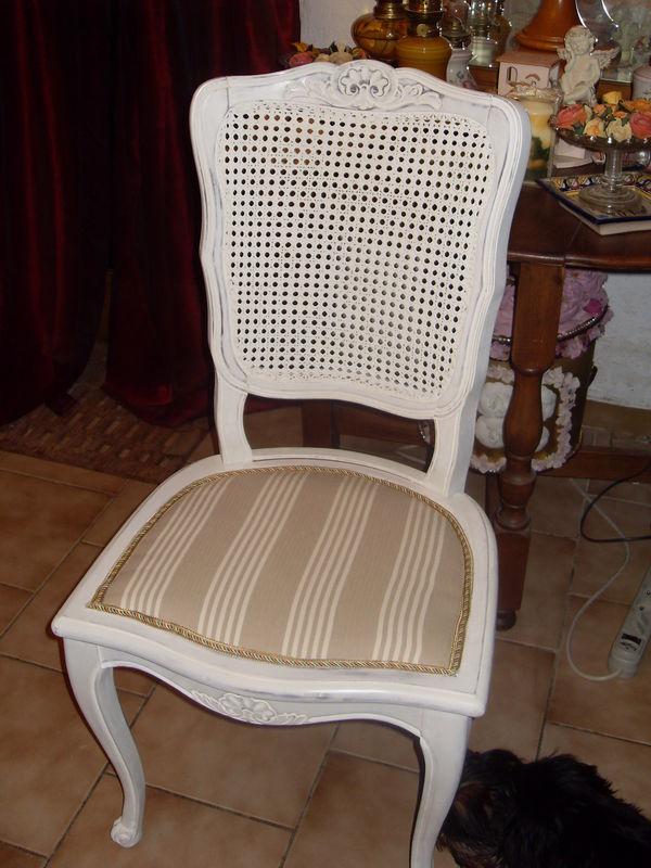 Relooker Une Chaise Cannee Atelier Retouche Paris
