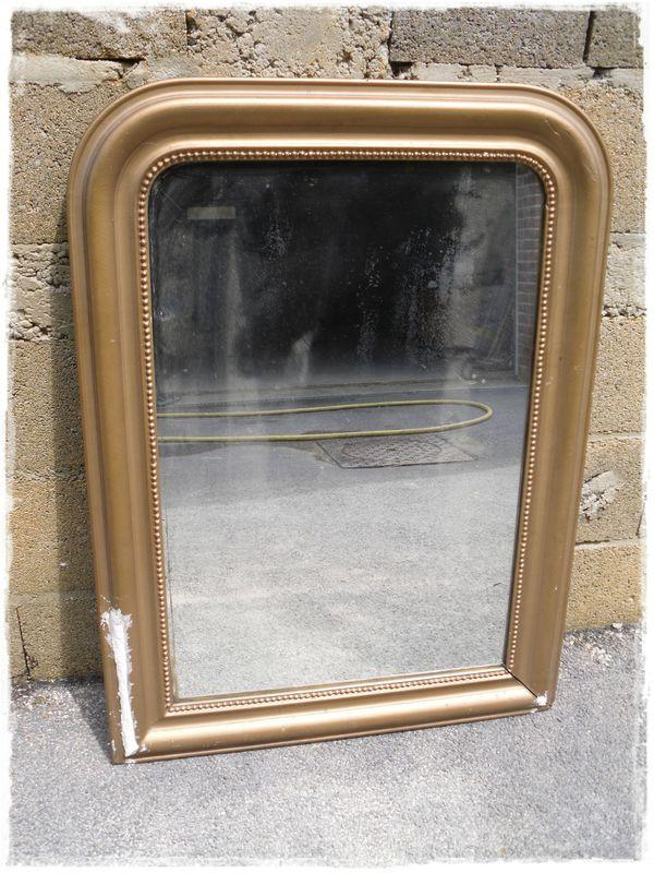 Miroir Ancien Patin Broc Et Patine Le Grenier De Sara