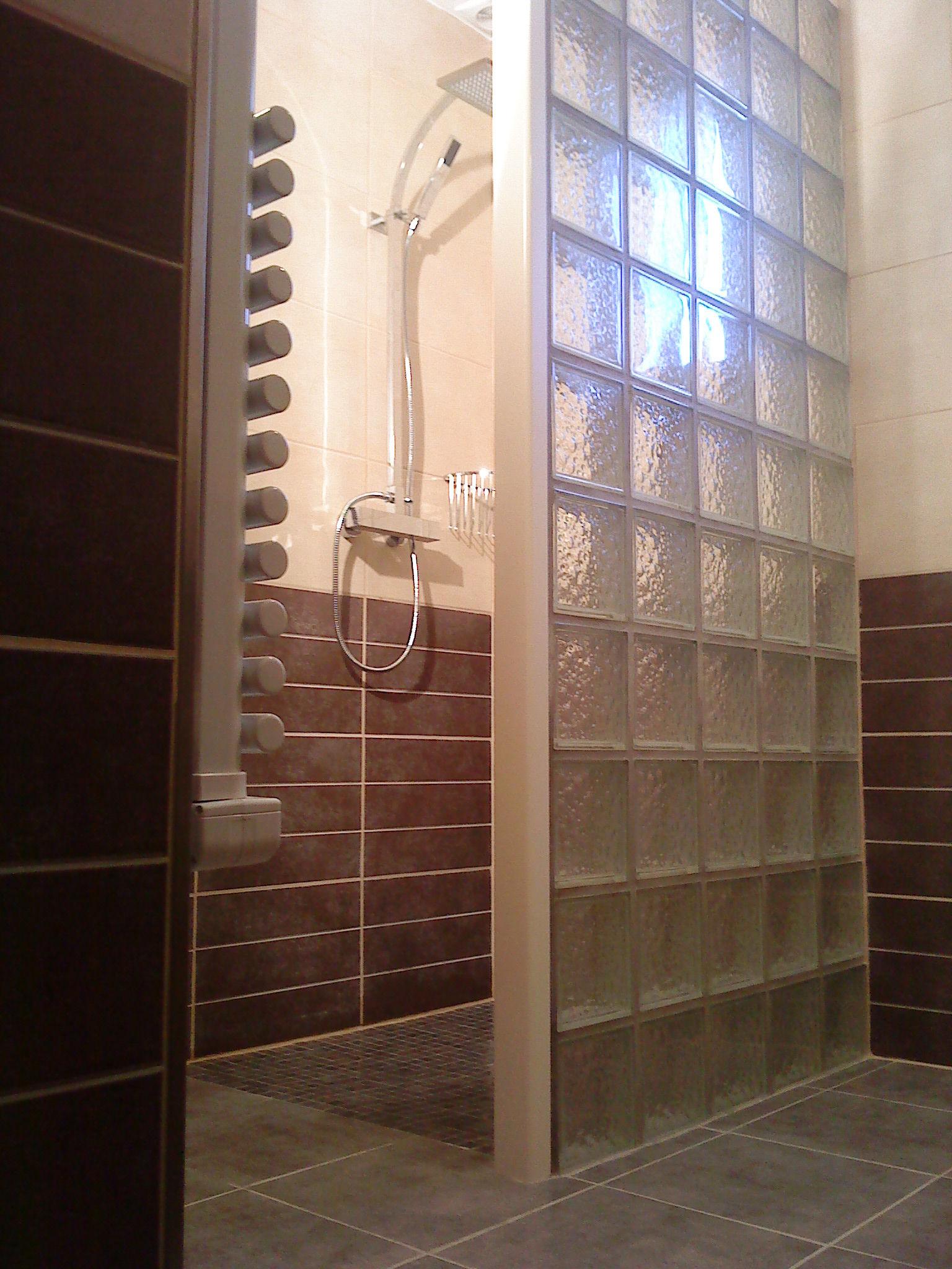 salle d eau douche a l italienne et wc