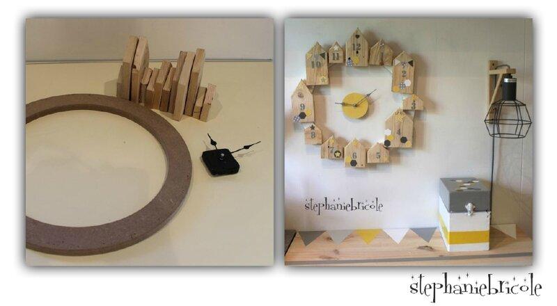 DIY Une Horloge Bois Maison Dco Encore Scandinave