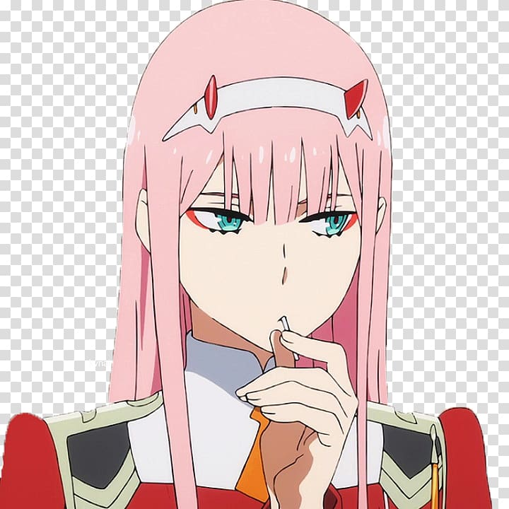 darling in the franxx transparent