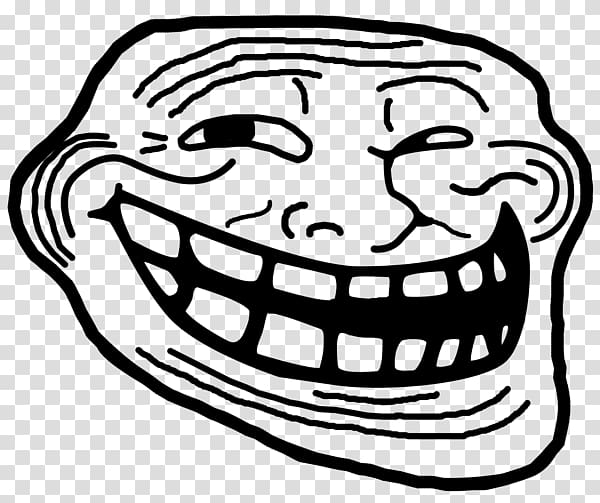 Smiling Meme Illustration Internet Meme Internet Troll Rage Comic