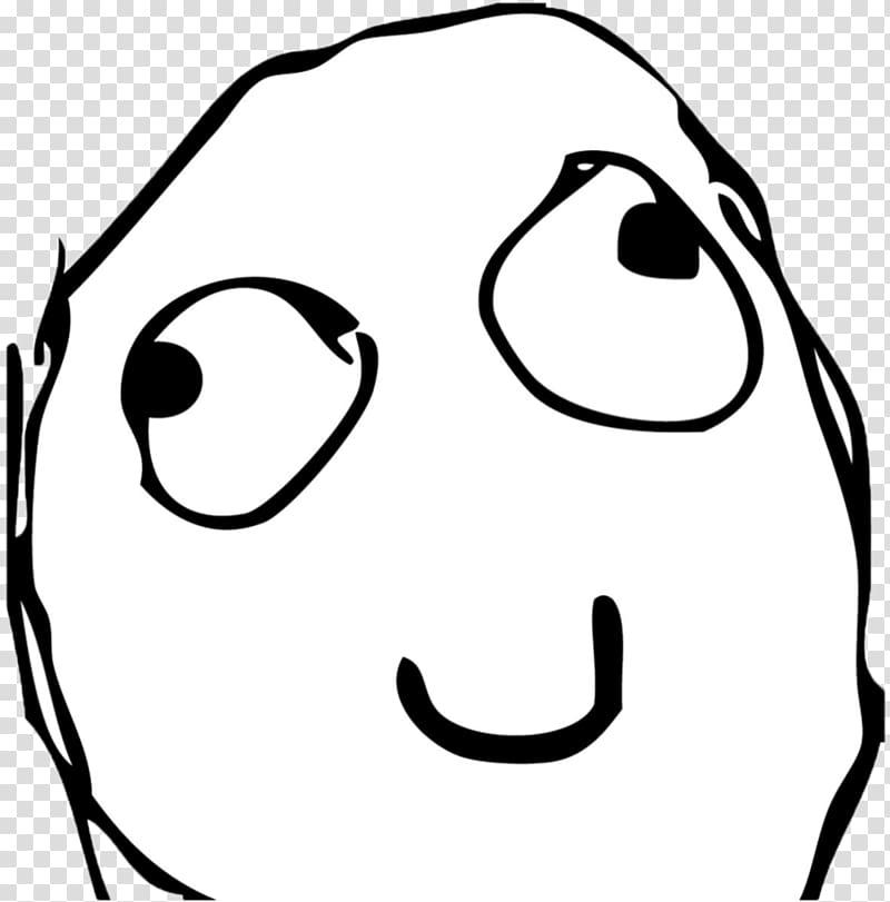 Happy Memes Sticker Super Funny Troll Face Transparent Cartoon