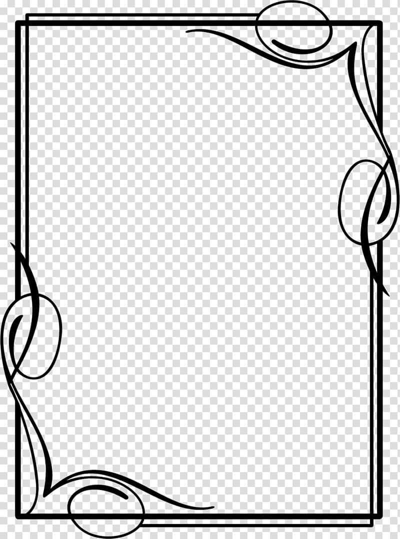 Black Frame Borders And Frames Drawing Frames Design Transparent Background Png Clipart Hiclipart