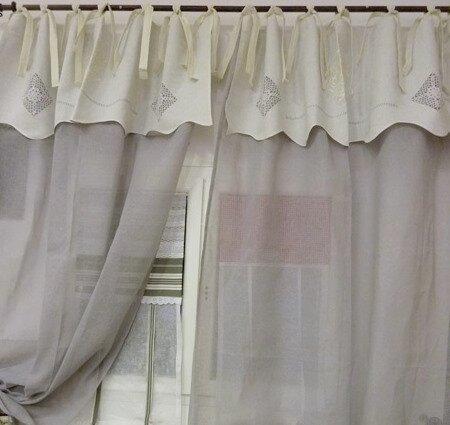 photo de les rideaux charme d autrefois