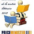 Les matchs de la rentrée littéraire sur priceminister