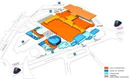 Plan ParcExpo Dijon
