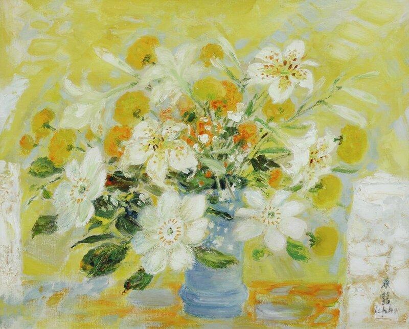 Lê Phổ (1907-2001), Fleurs (Flowers)