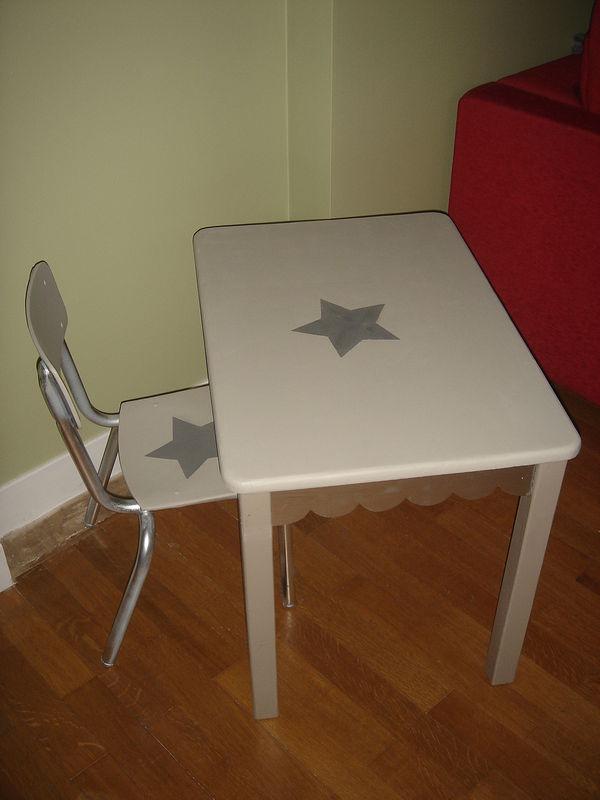 table basse et chaise ecole maternelle petite section