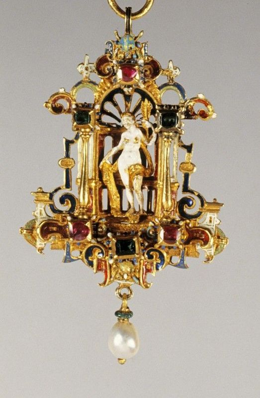 Pendant With Venus 1580 1620 AlainRTruong