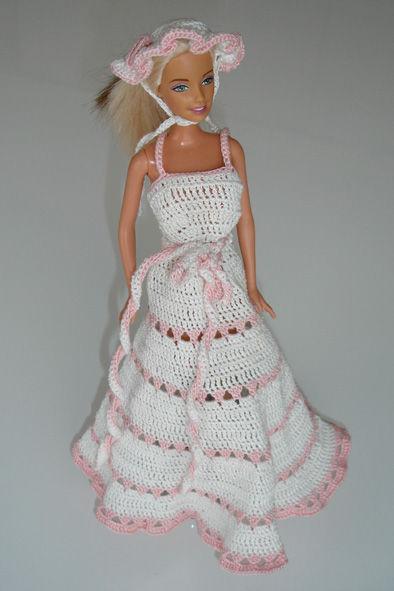Une Robe De Barbie Au Crochet Nos Mille Et Un Trsors