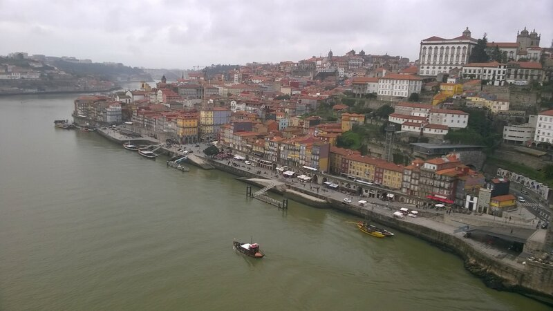 Vue depuis le Ponte Luis Ier