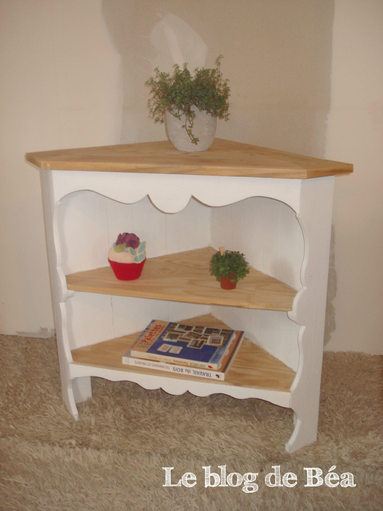 diy meuble d angle en bois de palette