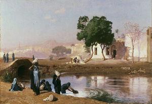 1860_1880_gerome_femmes_fellahs_puisant_de_l_eau_01