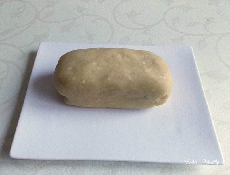 pâte d'amande maison