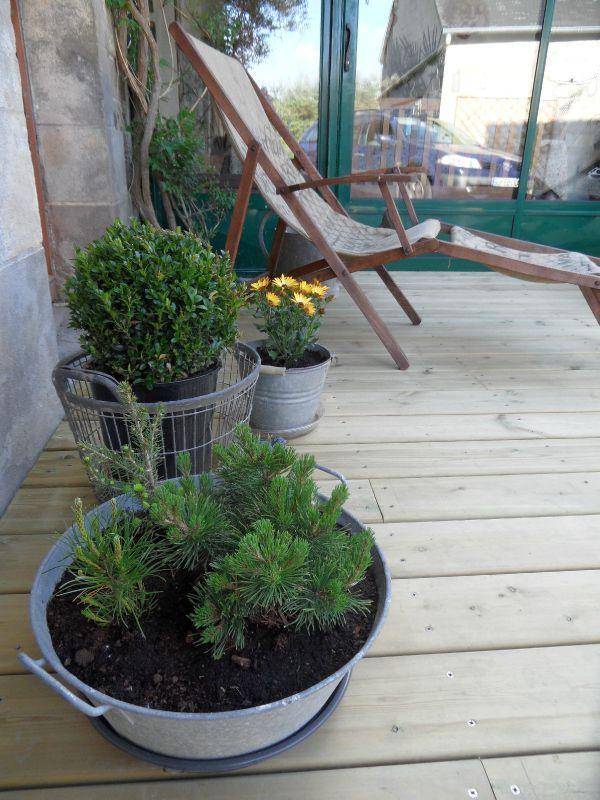 objets chines s invitent au jardin