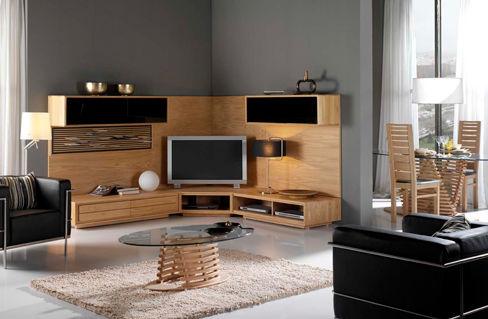 salon meuble tv composition 4 photo