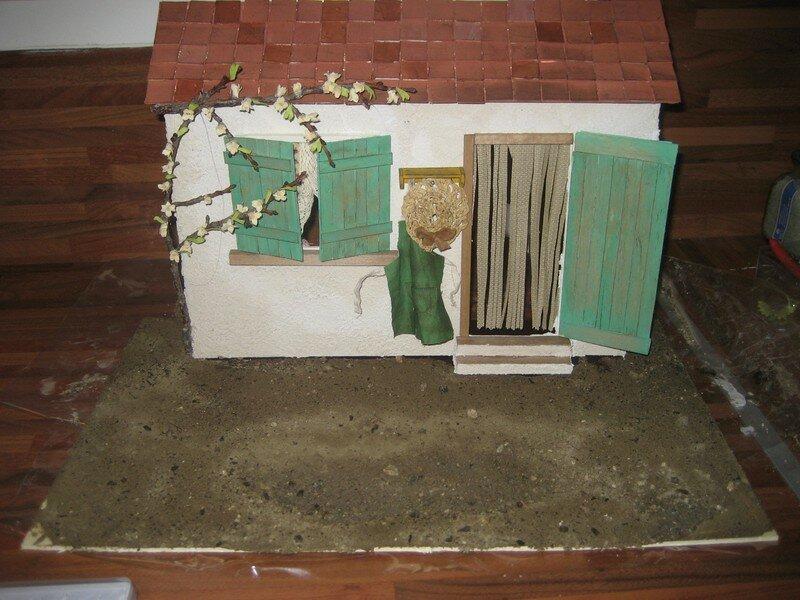 Fabriquer Une Faade De Maison Miniature La Maison De Bois
