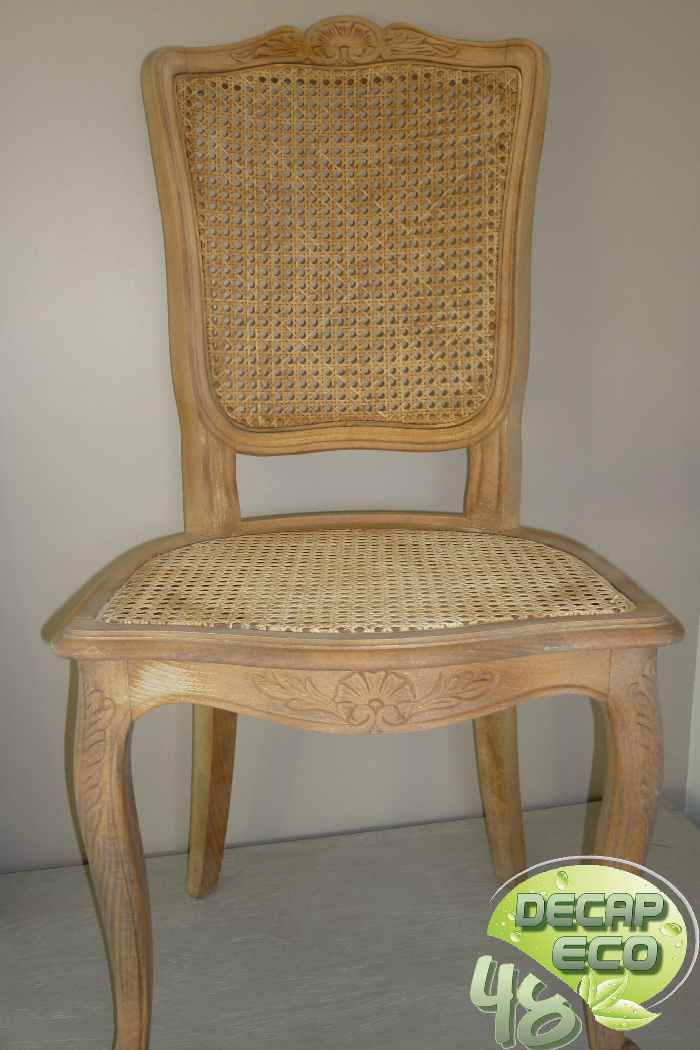 Chaises Cannees