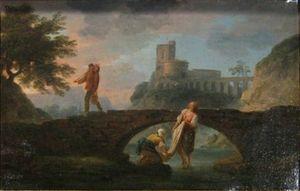 joseph xavier Mallet ,hst 75 x 50cm Art et Antiques