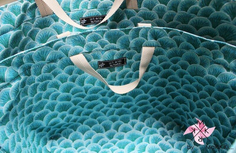 05 sacs bleus vintage