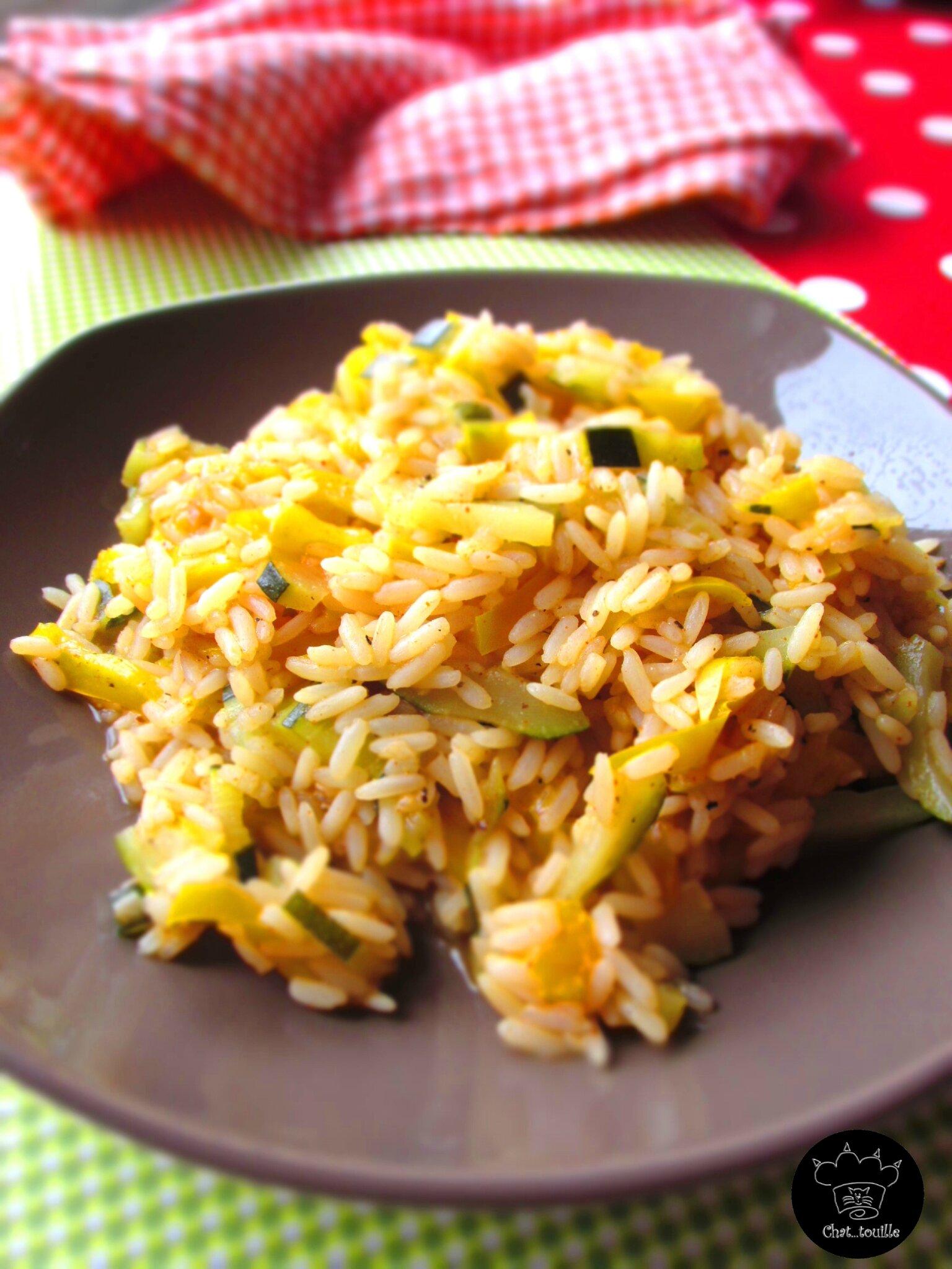 cookeo riz epice aux legumes chat