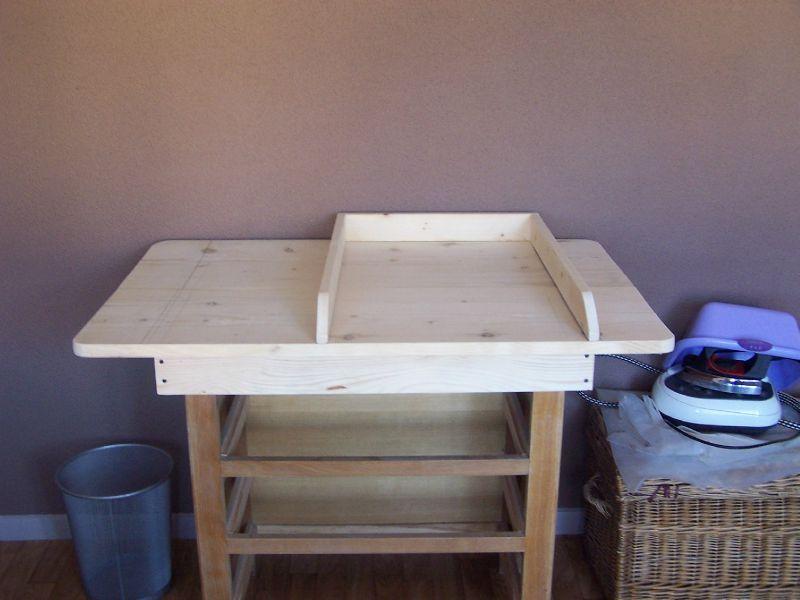 Fabriquer Table Langer Table De Lit