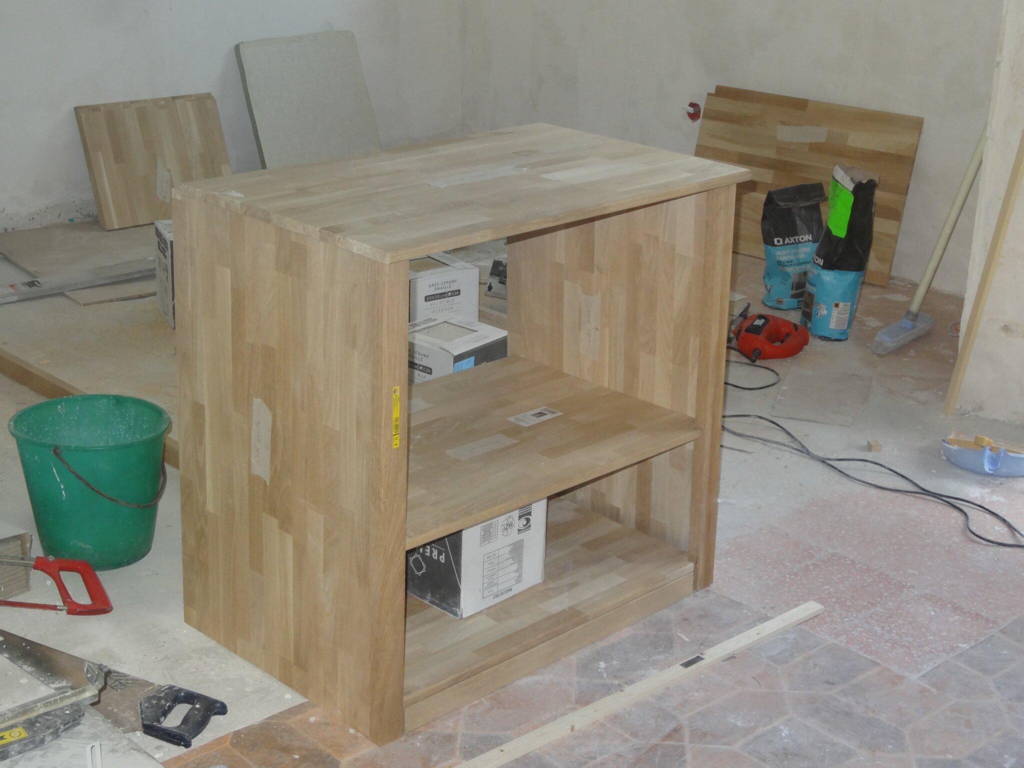 creation d un meuble sous vasque sur mesure