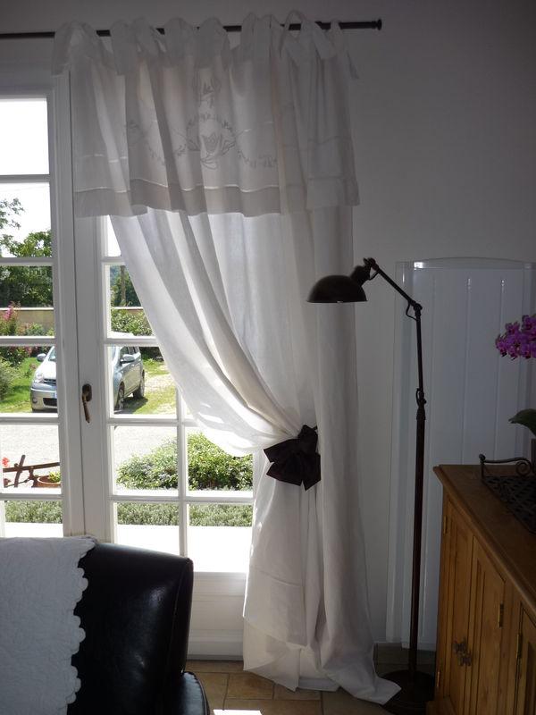 l art de transformer un drap en rideau