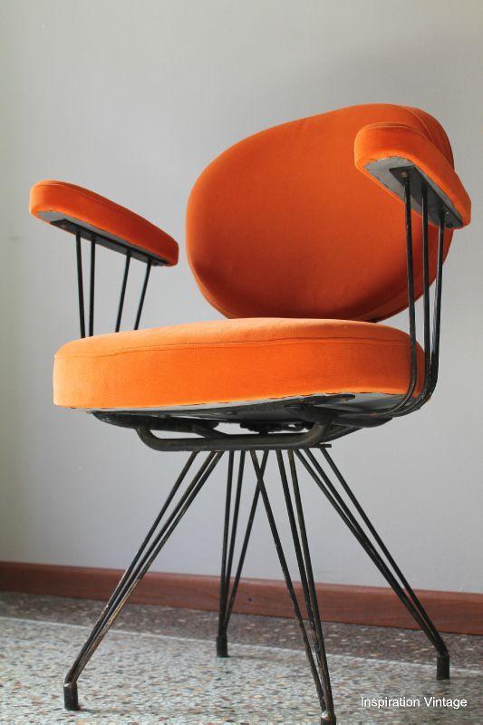 fauteuils coiffeur 60 s inspiration
