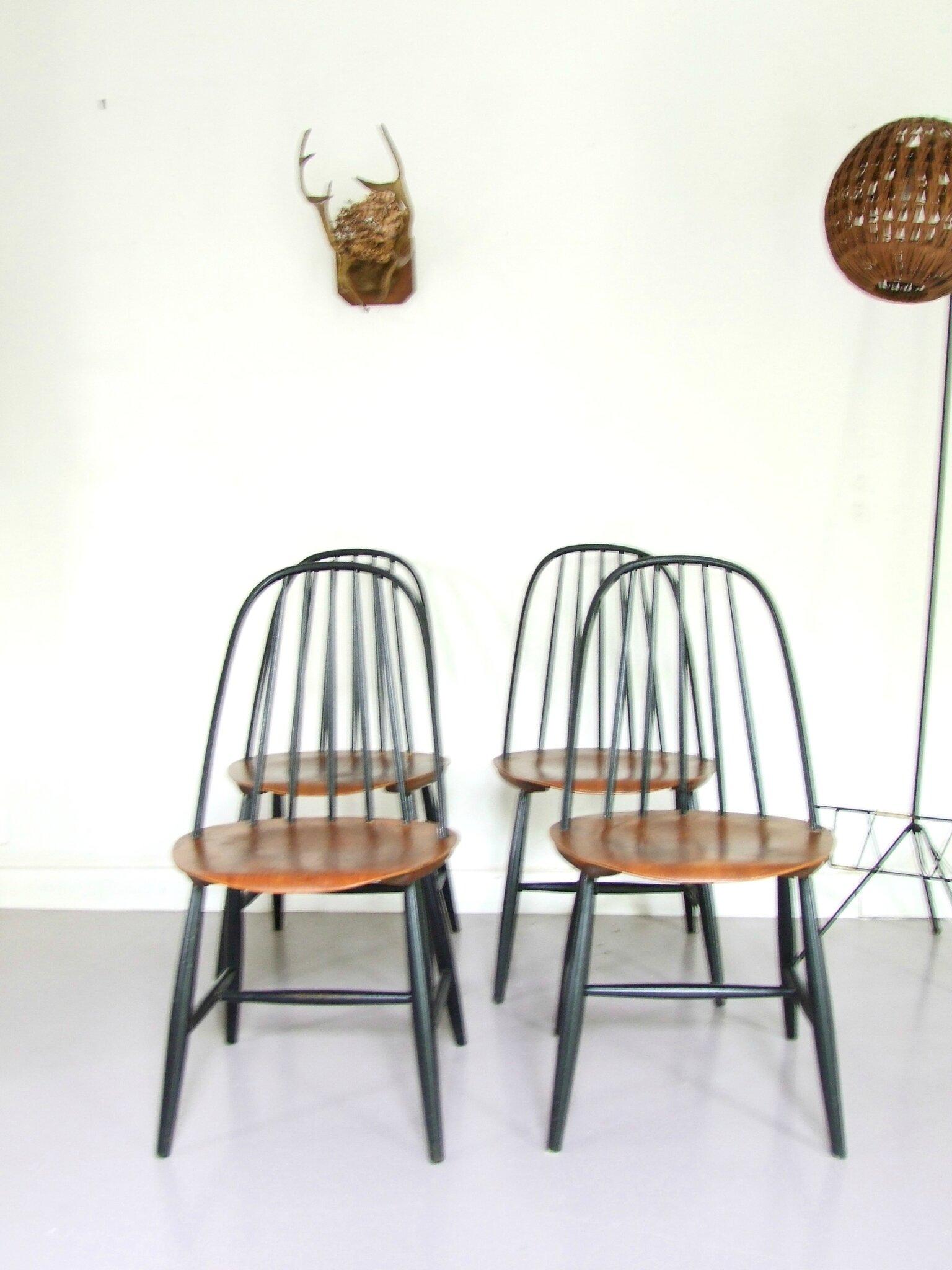 chaises scandinaves vintage hagafors