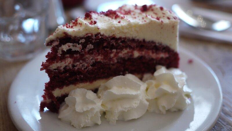 Un red velvet cake