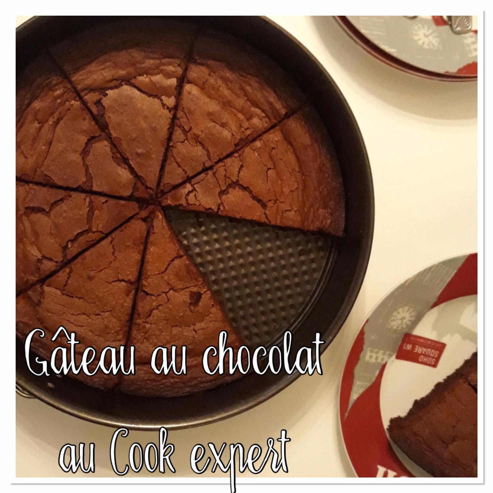 gateau au chocolat au cook expert les