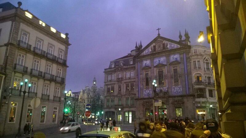 La nuit se couche sur Porto