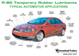 Automotive Assembly Applications | P80 Temporary Rubber