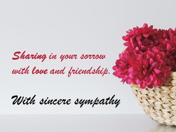 Condolences Sympathy Messages 250 Examples