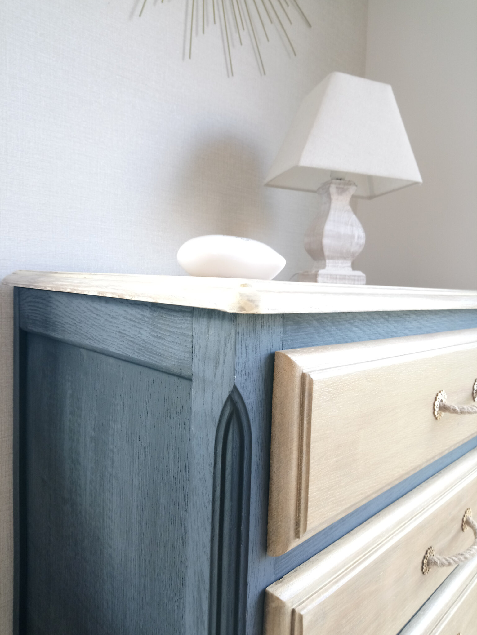 commode chiffonnier style campagne