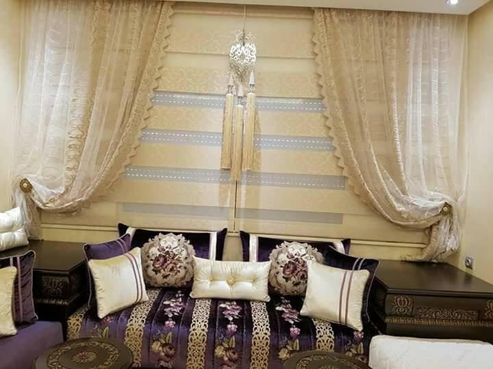 vente rideaux pour salon marocain