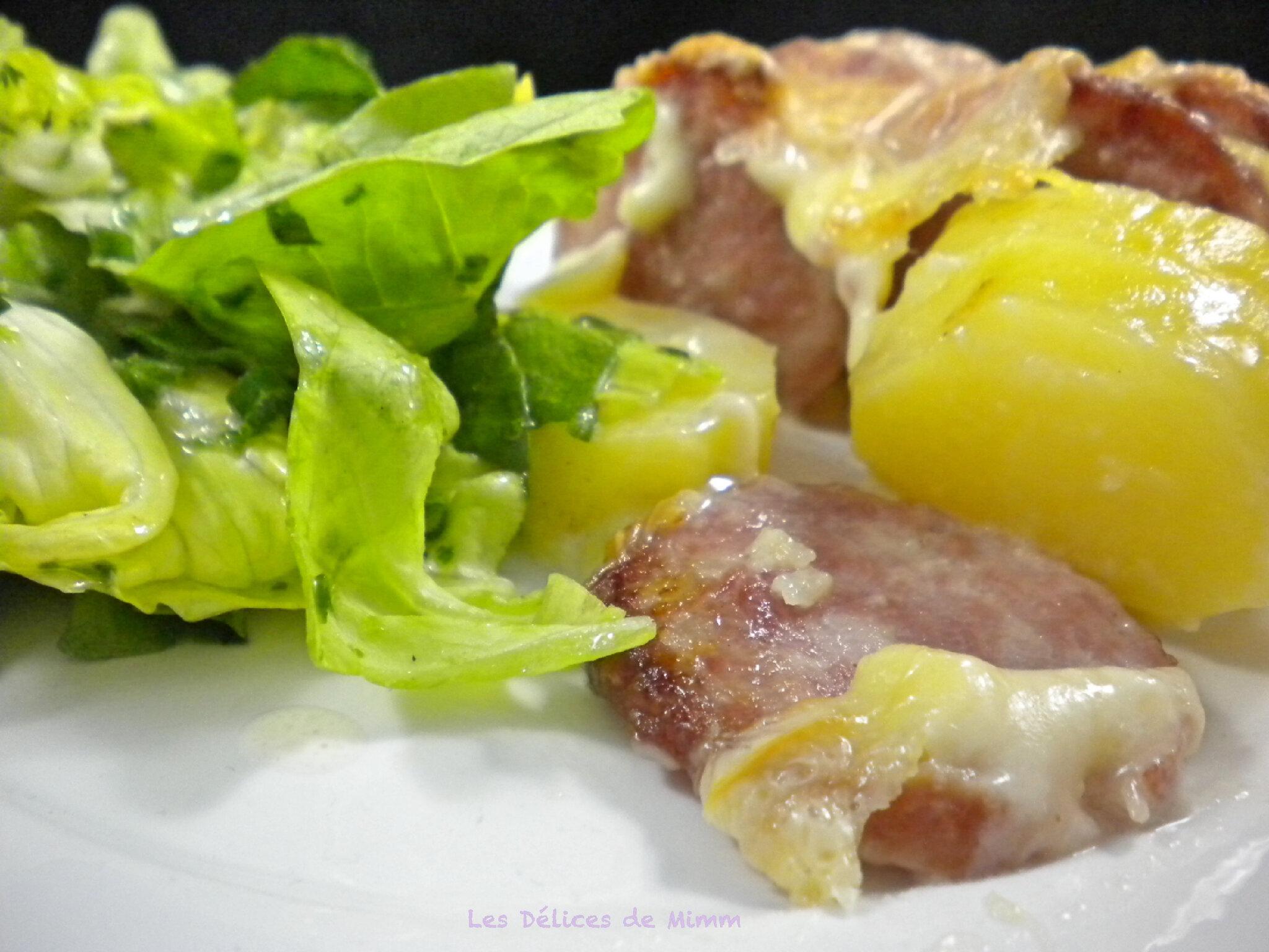 gratin de pommes de terre a la saucisse