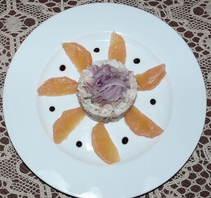 Salade De Riz Thon Pamplemousse Les Plaisirs De Ma Table