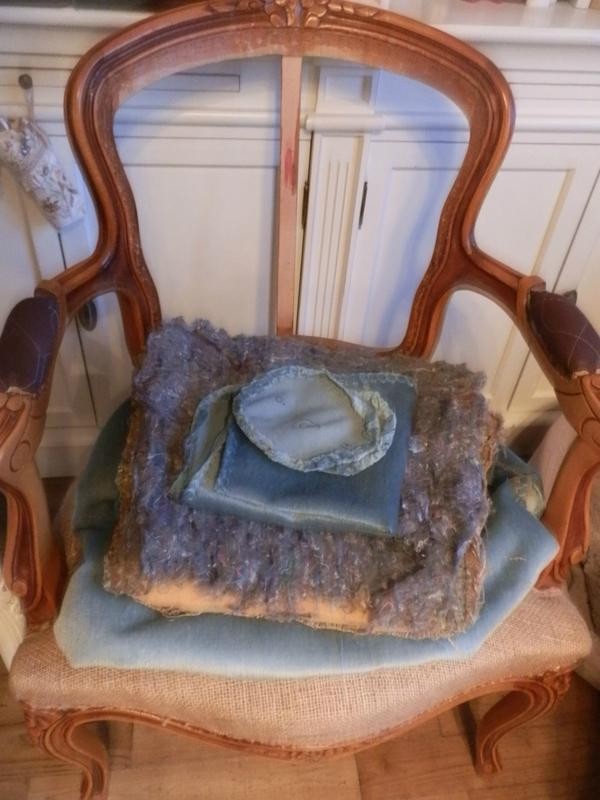 Relooking Dun Fauteuil Cabriolet Style Louis XV Le