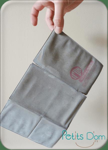 pochette rangement papier voiture