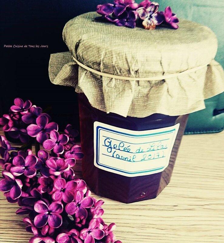 gelée de lilas les-passions-de-Faby.com