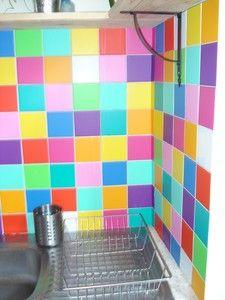 Carrelage Cuisine Multicolore