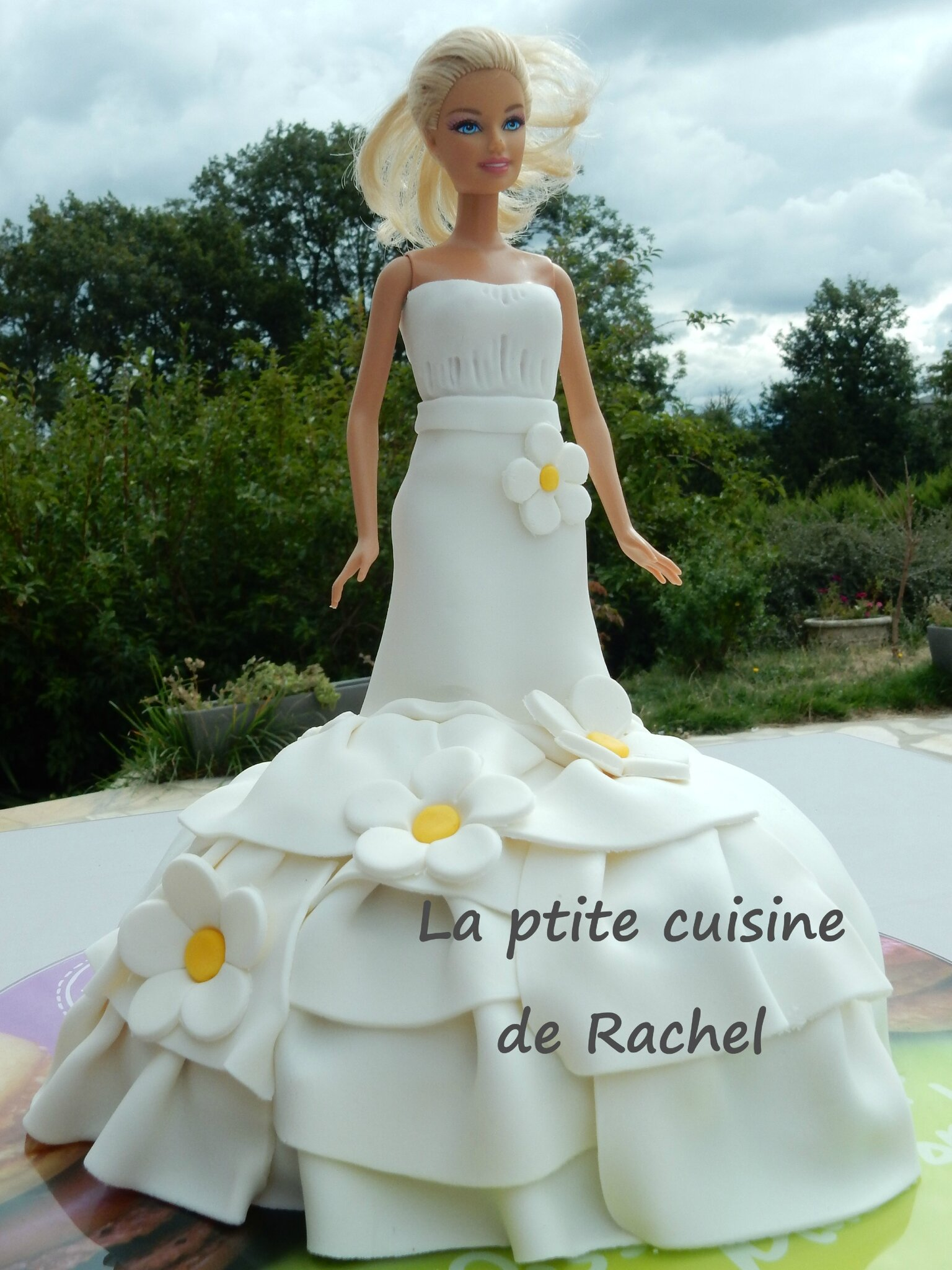 Gteau Barbie La Ptite Cuisine De Rachel