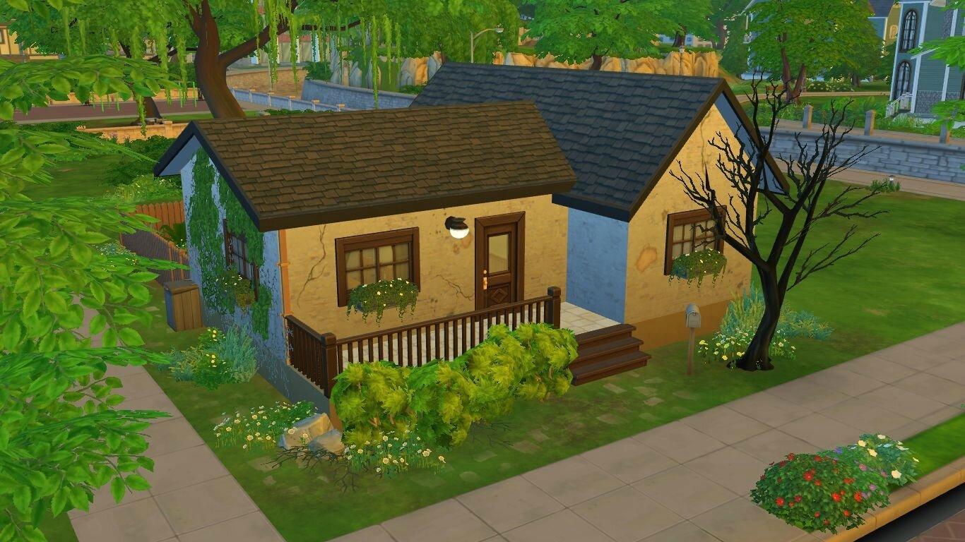 La Maison Abandonnee Studio Sims