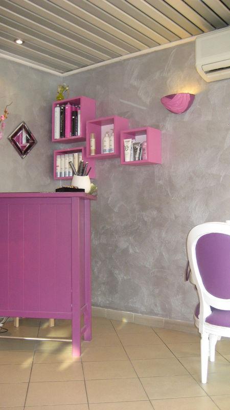 Relooking Salon De Coiffure 77 PINKSPACE Audrey