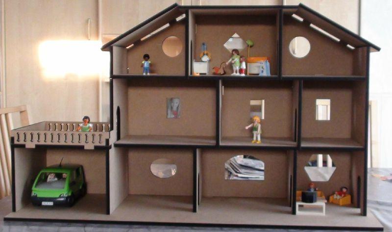 Construire Une Maison De Barbie En Bois Fabulous Maison